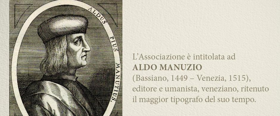 ALDUS CLUB  ALDO MANUZIO