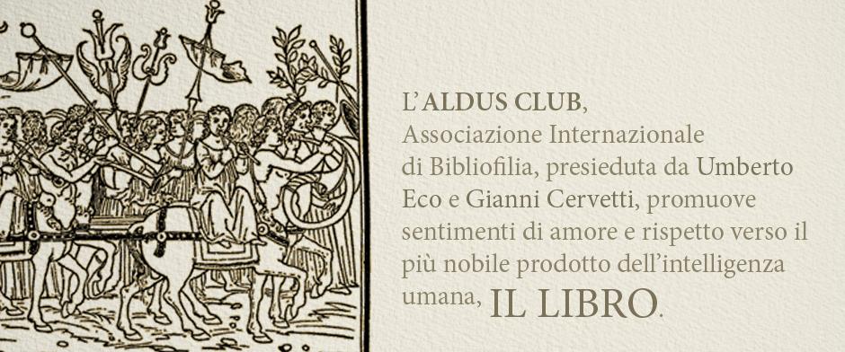 ALDUS CLUB IL LIBRO