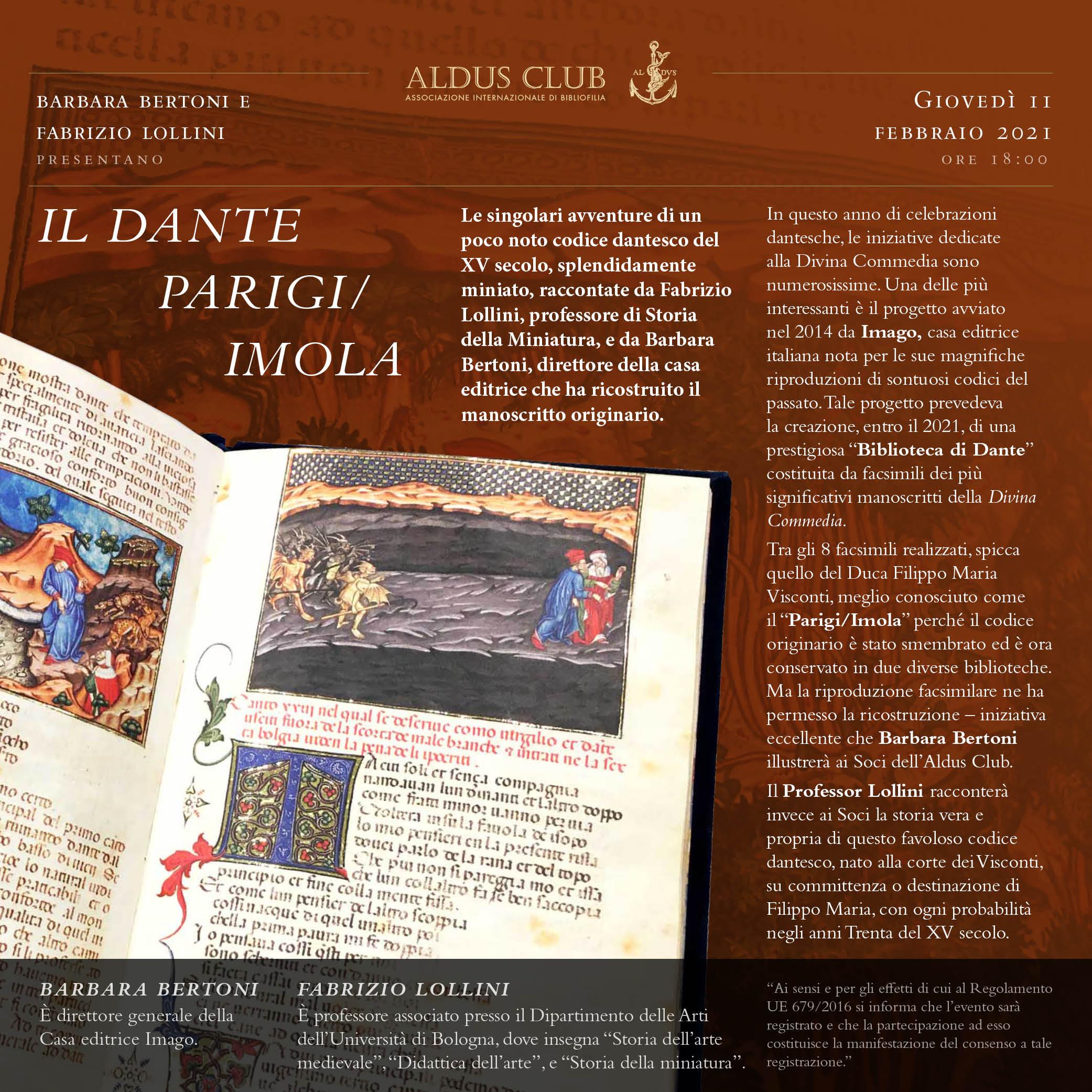 Il Dante Parigi/Imola